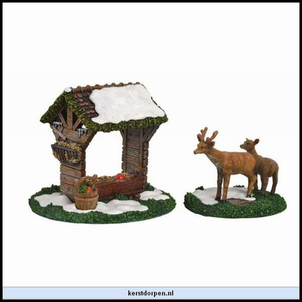 610.038-deer crib  set of 2