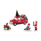 4035578-Holiday Special Toy Town Accessory Set