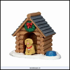 54943 log cabin dog house