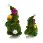 4032417-Wonky Trees, Set of 2