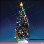 74263-multi-light evergreen tree large - 10in battery-operated