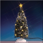 74264-clear-light evergreen tree large - 10in battery-operated