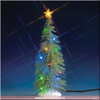 74265-multi-light spruce tree large - 10in battery-operated