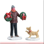 52383-tree lot figure set of 2