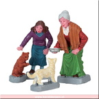 72497-cream for kitty set of 4