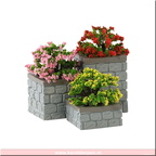 84380-flower bed boxes set of 3