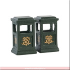 84386-green trash can set of 2
