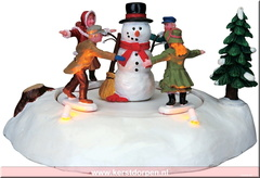 84776-the merry snowman battery operated