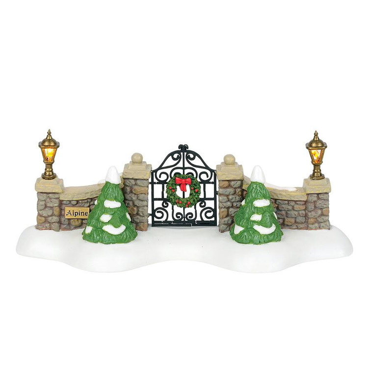 6000568 alpine village gate