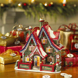 56.56798 countdown to christmas headquarters 2006 limited ed