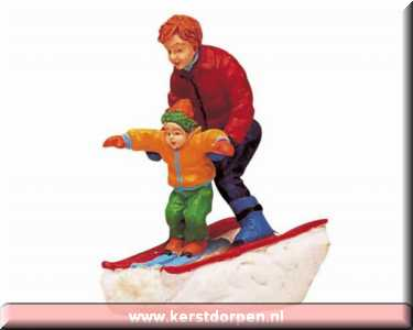 62169-father and son skiing