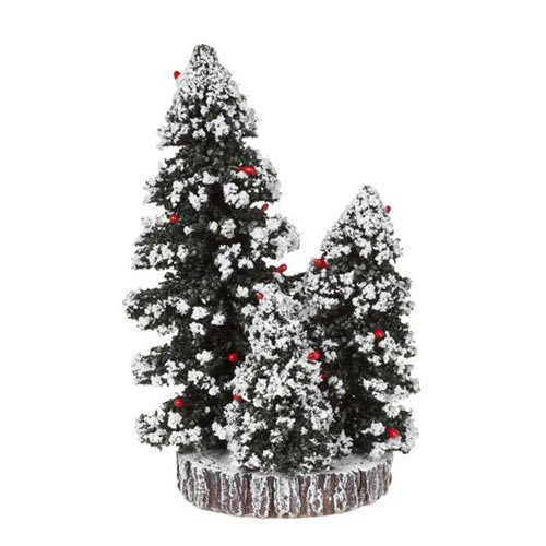 608.302-base with evergreen trees dia.11 cm.