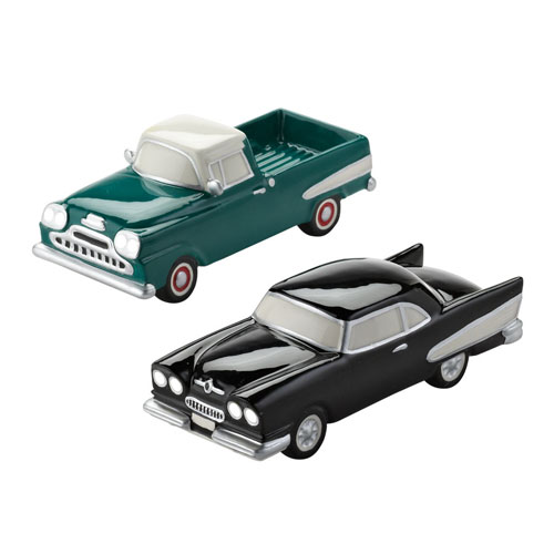 4025331 snow village cars, 2 assorted